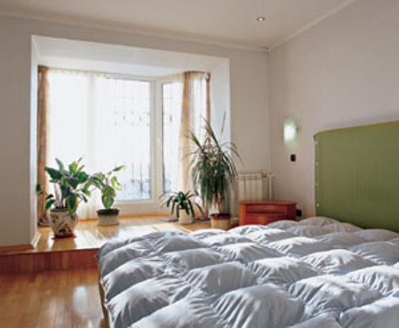 Соединение с комнатой балконные проемы..